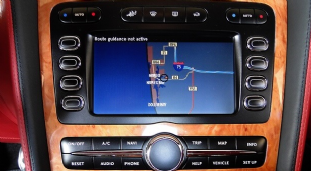 Bentley Satnav  Map CD Update for Europe